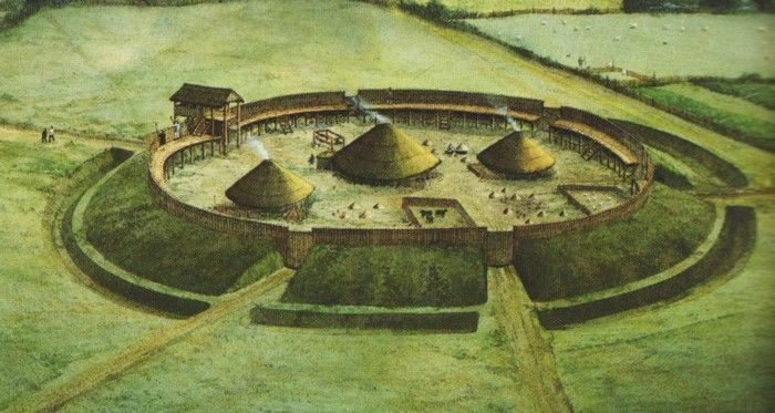 Iron Age Fort, Britain