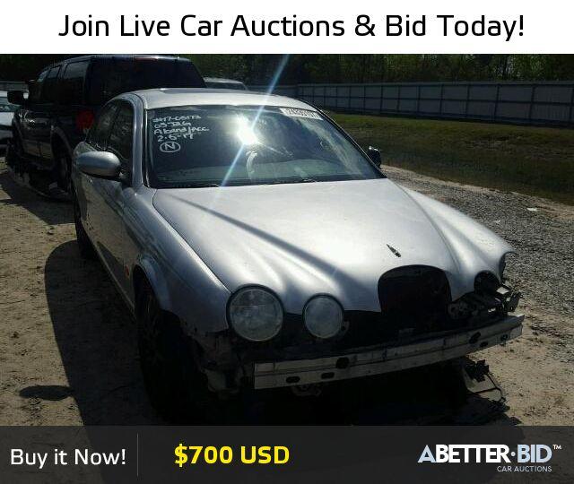 Salvage  2005 JAGUAR S-TYPE for Sale - SAJWA01T35FN45955 - https://abetter.bid/en/24335107-2005-jaguar-s-type