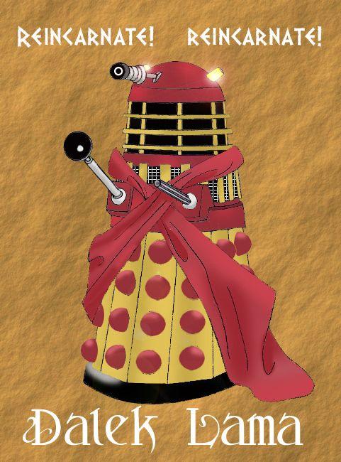 The Dalek LamaJokes, Colors, Bananas, Doctorwho, Geek Love, Doctors Who, Stuffed French Toast, Dalek Lama, Couples Costumes