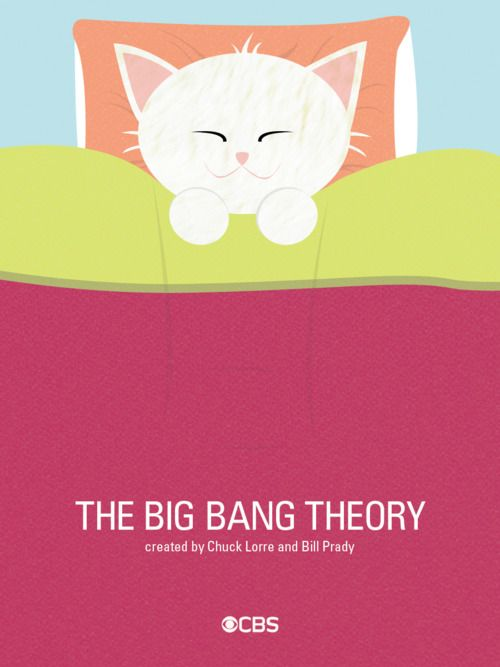 The Big Bang Theory - Sing soft kitty!: Minimalist Posters, Happy Kitty, Warm Kitty, Sleepy Kitty, Picture-Black Posters, Big Bangs Theory, Mr. Big, Sad Kitty, Minimal Movie Posters