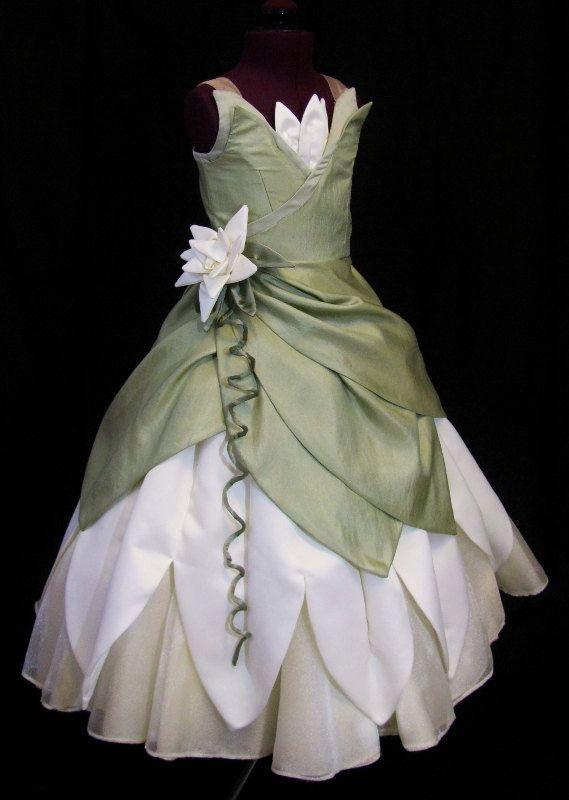 I MUST HAVE THIS POST HASTE!!! Adult-Princess and the Frog Custom Costume by NeverbugCreations on Etsy