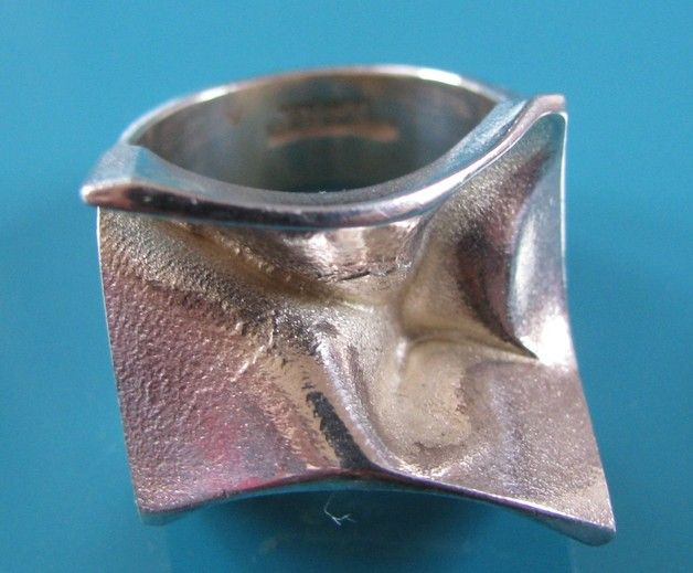 Vintage Rings – Lapponia silver RING Björn Weckström 925 signed – a unique product by allmodern on DaWanda