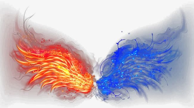 Red And Blue Flame Wallpaper Red And Blue Blue Flames Blue Anime