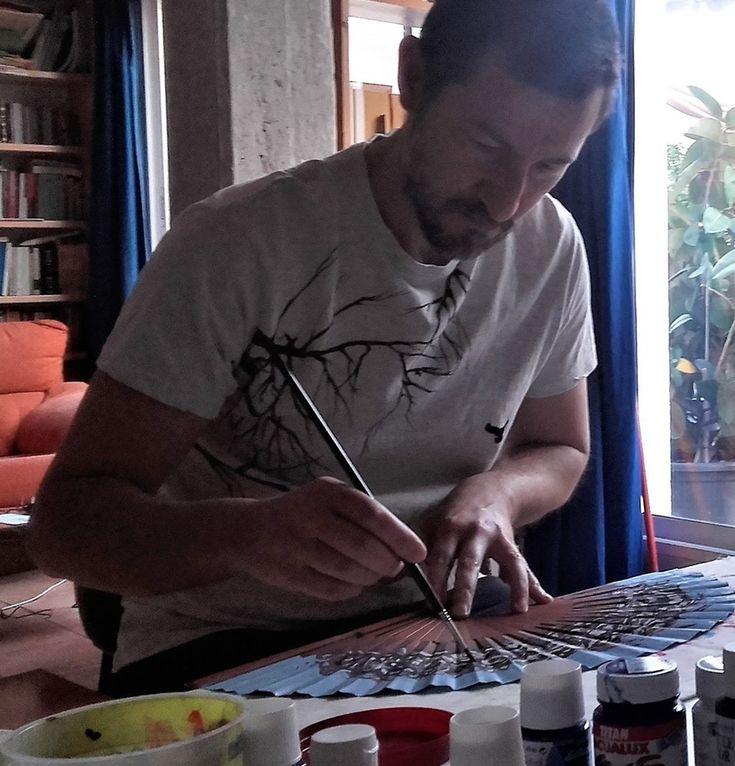 Abanicos de autor. Abanicos personalizados pintados a mano por Gustau Donat. Pintor, artista y artesano de Valencia. Regala una obra de arte única. Cada abanico es exclusivo, diferente e irrepetible. Si lo deseas tambien ofrezco copias de pinturas por encargo.