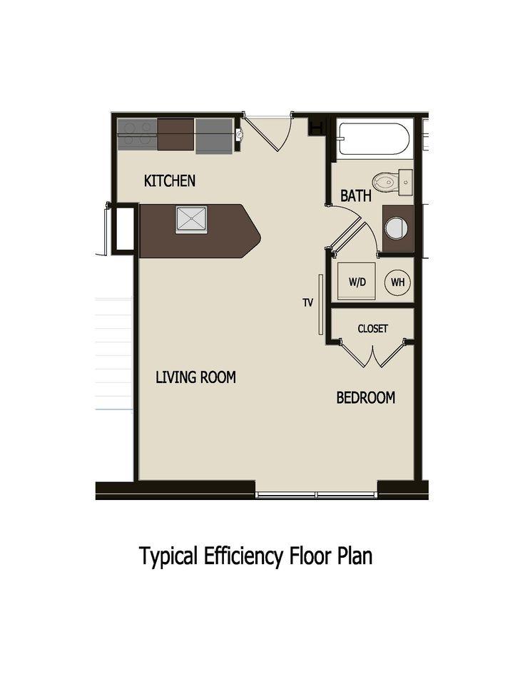 Efficiency Apartment Floor Plan 12 best efficient apt images on pinterest   floor plans, studio