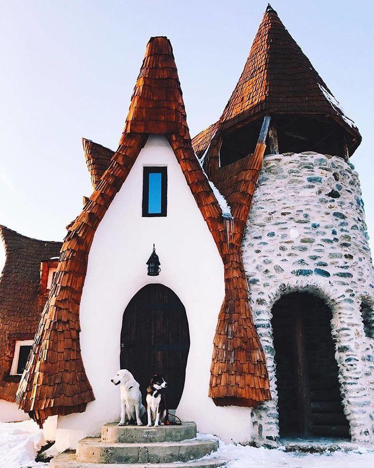 "Culture Trip on Instagram: ""Tag a friend who would love to 'gram Romania's extraordinary Castelul de Lut Valea Zanelor. ❤️ #romania #architectureporn #beautifulhouse…"""