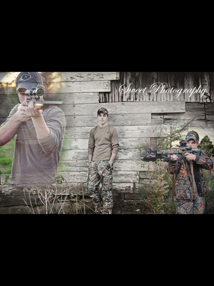 .Hunting senior.