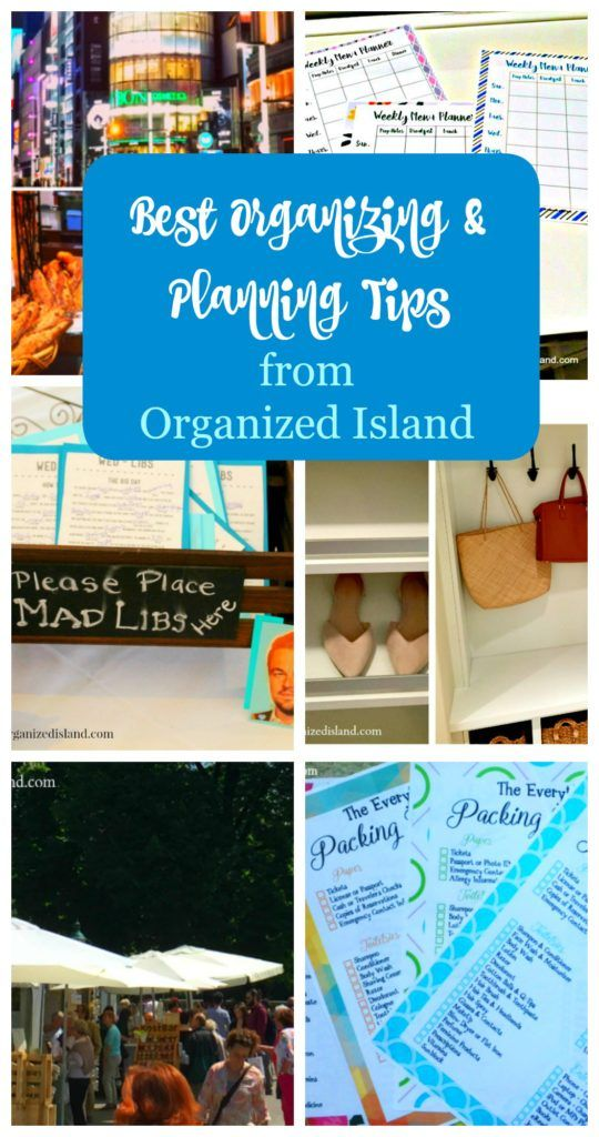 Top Organization and Planning Tips