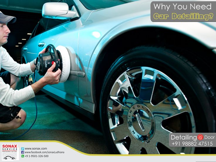 Why You Need Car Detailing? #CarDetailing #CarDetailingInLudhiana #CarCare #CarCareInLudhiana #CarMakeOver   http://www.sonax.com/   M:+91 9888247515