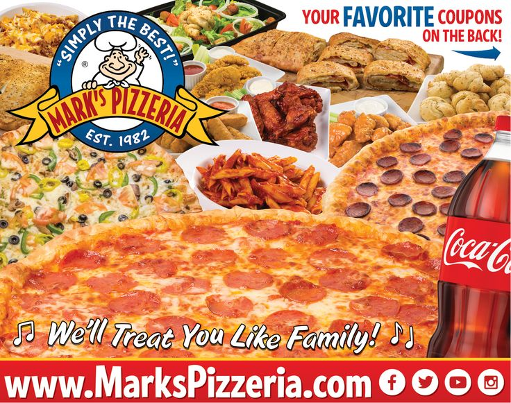 Mark's pizzeria ovid coupons