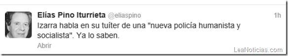 Vea la tángana que hubo por Twitter entre Elías Pino y Andrés Izarra (tweets) - http://www.leanoticias.com/2013/08/15/vea-la-tangana-que-hubo-por-twitter-entre-elias-pino-y-andres-izarra-tweets/