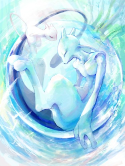 Pokemon will always hold a special place in my heart. Mew and Mew-two