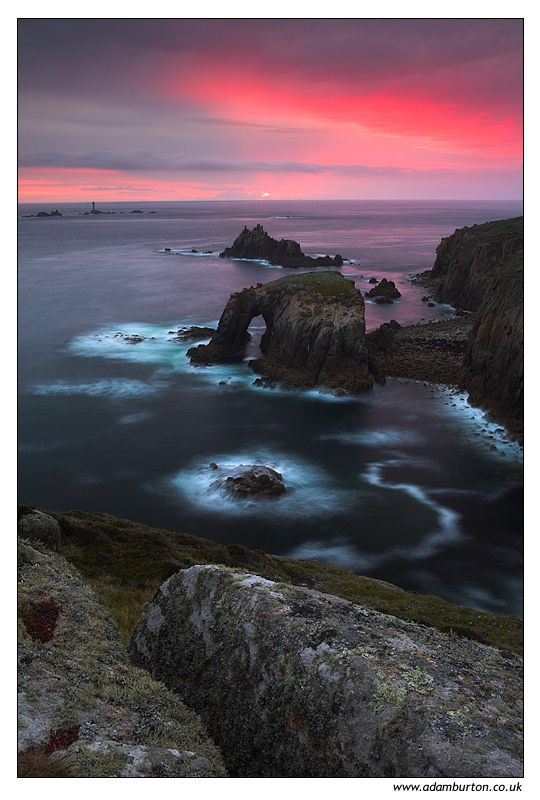 Lands End, Cornwall, England UK Copyright: Adam Burton
