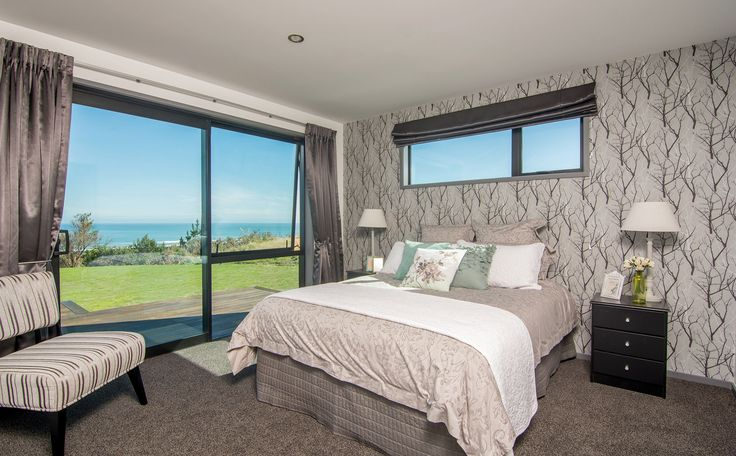 Main bedroom with a view!
