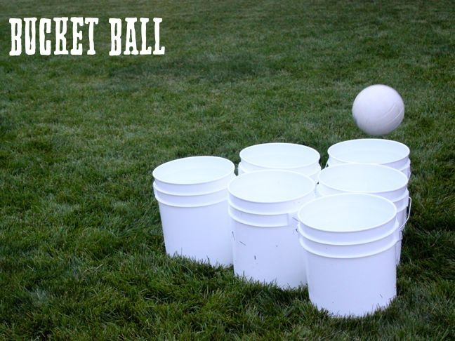 How to Play Bucket Ball: A Kid-Friendly, Giant Version of Beer Pong (No Alcohol Included!)