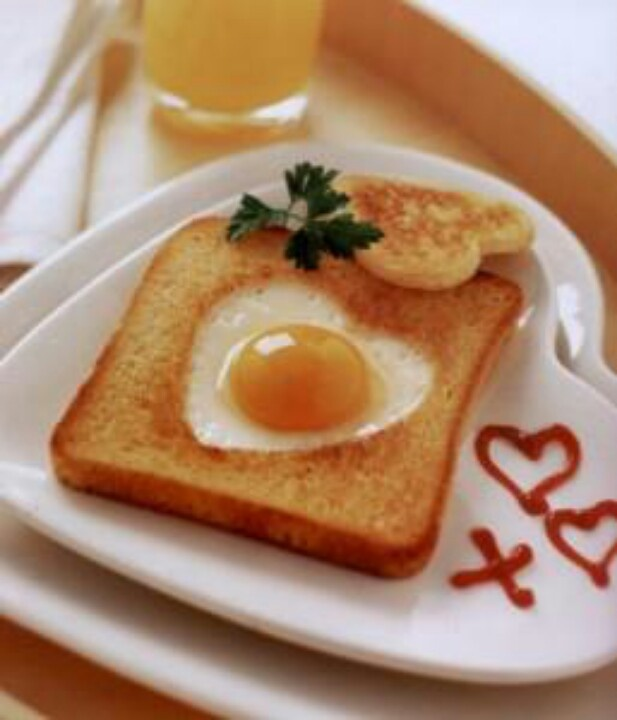 Un desayuno con mucho amor.