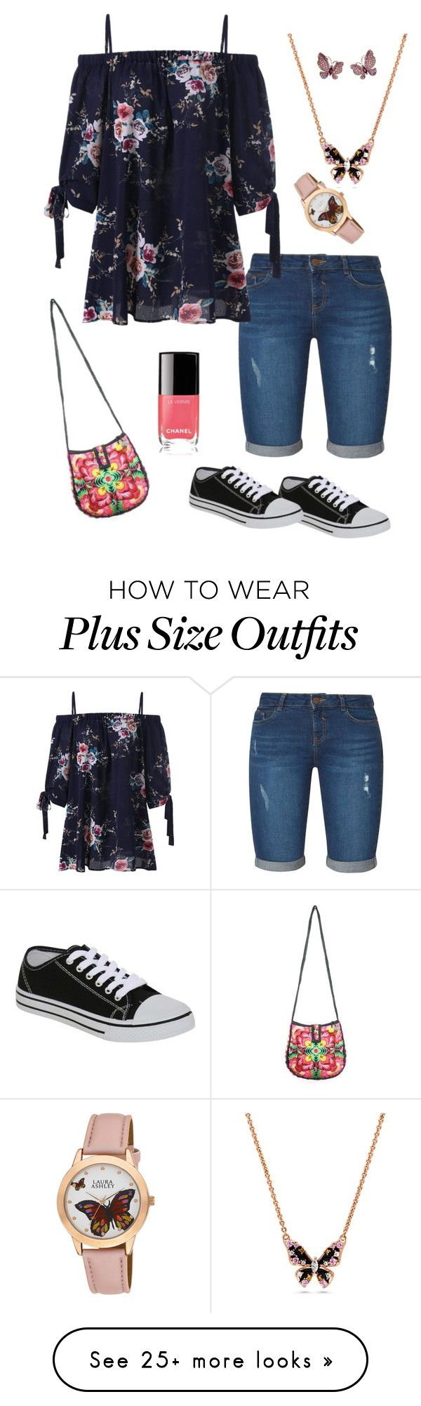 """Geen titel #440"" by miriam-witte on Polyvore featuring Dorothy Perkins, Pilot, Alex Soldier and Laura Ashley"