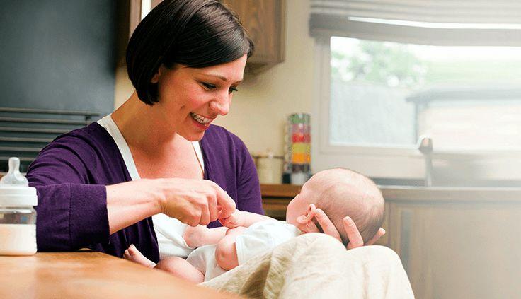 como preparar un biberón #bebé