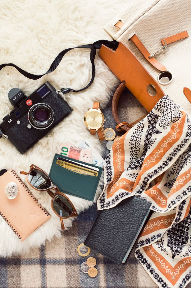 pack light for your adventures / Hermes Travel Backpack / via: Ann Street Studio