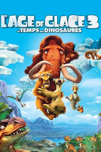 L'Âge de glace 3 : Le Temps des dinosaures (2009) Regarder L'Âge de glace 3 : Le Temps des dinosaures (2009) en ligne VF et VOSTFR. Synopsis: Une maladresse de Sid le paresseux va propulser les hér...