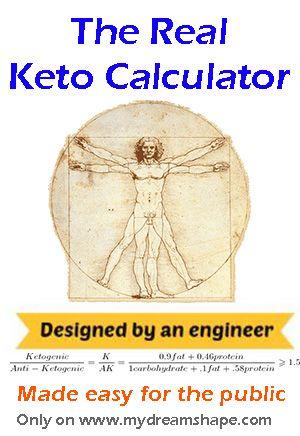 The Real #Keto Calculator www.mydreamshape.com/keto-calculator/ #ketogenic #lowcarb #fitness #bodybuilding