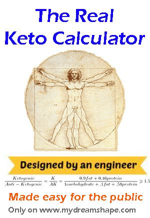 The Real #Keto Calculator www.mydreamshape.com/keto-calculator/ #ketogenic #lowcarb #fitness #bodybuilding