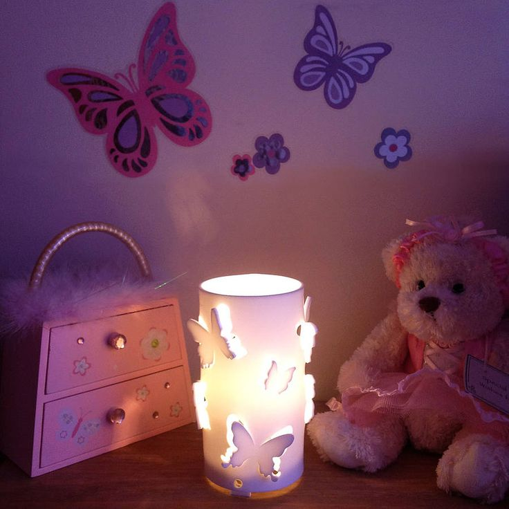 butterfly night light by kirsty shaw | notonthehighstreet.com