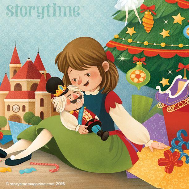 Clara and the Nutcracker – our Storytime Christmas special fairy tale with gorgeous art by Gaia Bordicchia (http://www.gaiabordicchia.com) ~ STORYTIMEMAGAZINE.COM