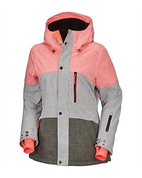 10K/10K waterproofing/breathability and Firewall insulation give O'Neill's Coral Snow Jacket a technical performance. Buy Now http://www.outsidesports.co.nz/outdoor-sports-gifts-for-her/ONE555011/O'Neill-PW-Coral-Jacket---Women's.html#.Vyblm3pnHpI