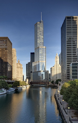 Trump Tower SOM | Tom Rossiter Photography