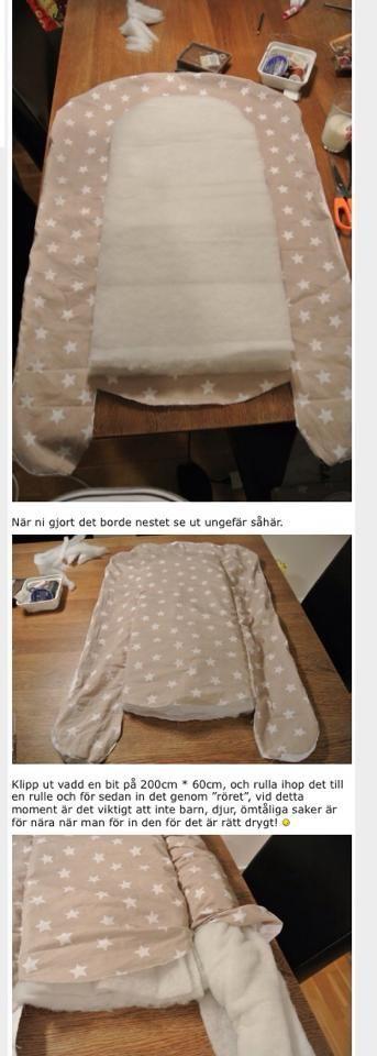 babynest, bebek taşıma yatağı kalıbı ve yapılışı. babynest sewing pattern.