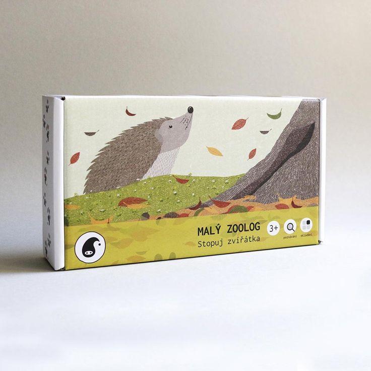 Animal Tracks kids montessori game by pipasik.cz