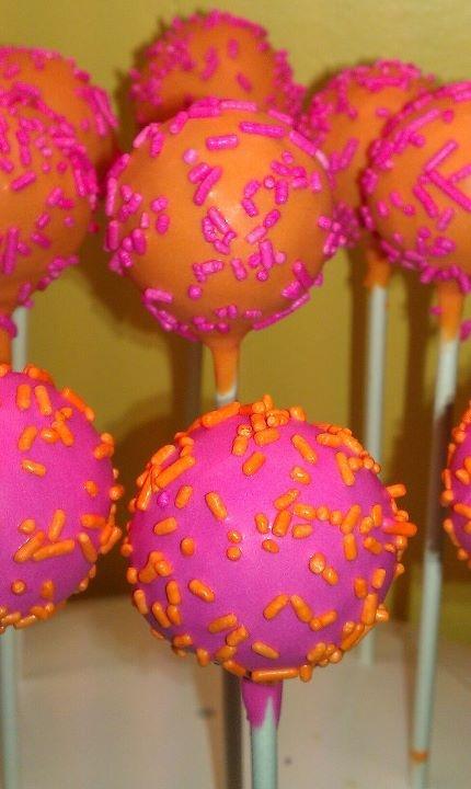 Girly cake pops