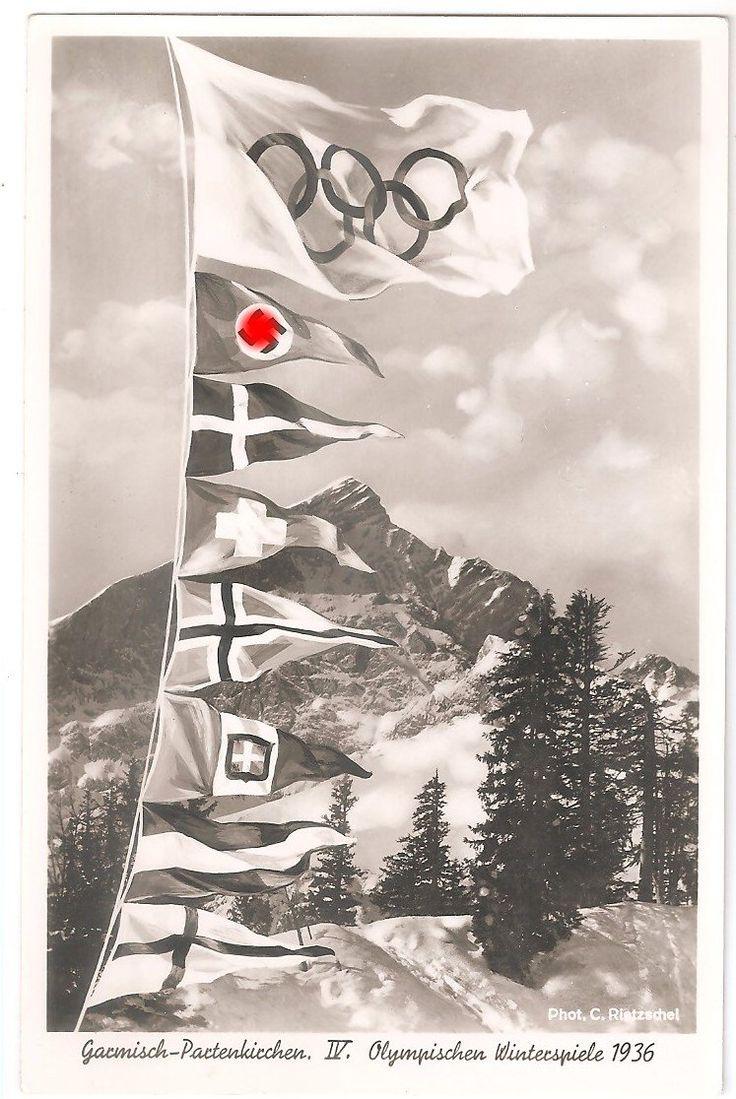 Открытки олимпийских игр 1936 года, днем