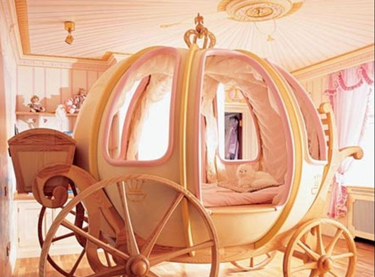 Cinderella carriage bed!