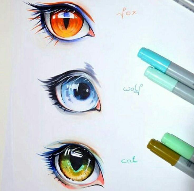 Fox, Wolf or Cat eyes?! 😍😍