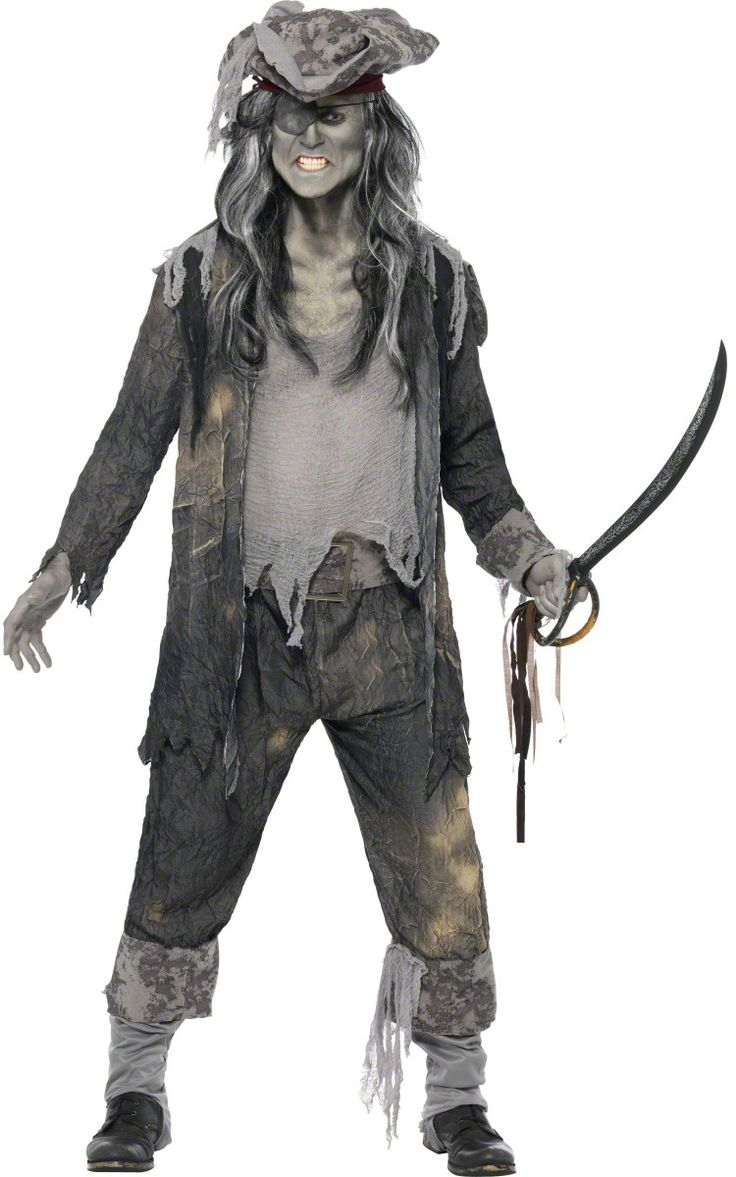 ghostly+halloween+costumes | Ghost pirate costume for men Halloween : Vegaoo Adults Costumes