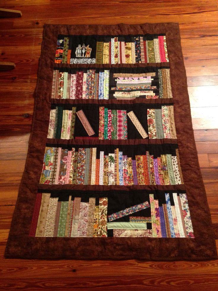 Facebook bookshelf quilt pinterest facebook book for Patchwork quilt book