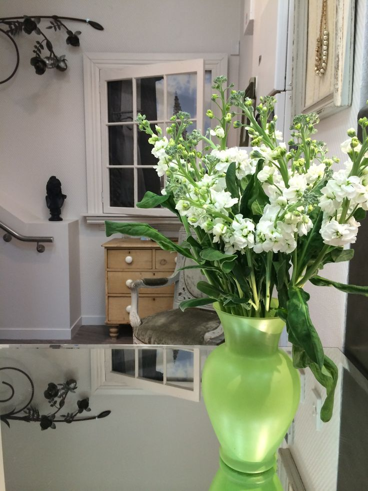 Beautiful sweet smelling stocks from Scent Floral Boutique for our store opening last night.