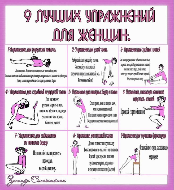 Похудеть Физ Упражнения.