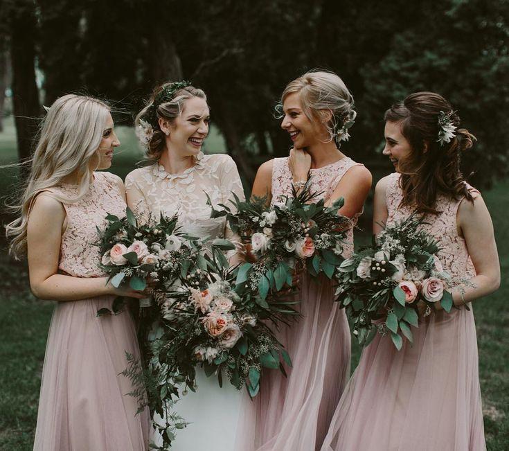 Boho Inspired Bridesmaids  | Brandon Scott Photography