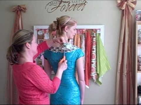 How to make a custom, duct tape dress form with me. More videos at www.TheGuiltyCrafter.com