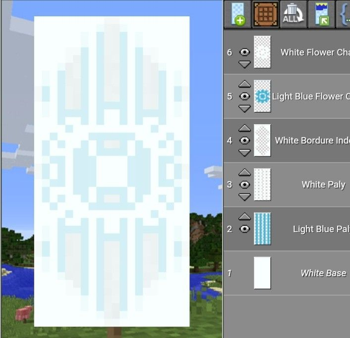Banner Designs Minecraft Step By Step