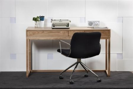 The Kya Black Office Chair is a functional and comfortable desk chair that still has style and character - Complete Pad