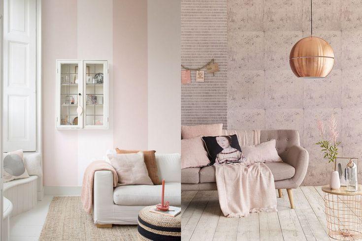 Woonkamer De woonkamer is de ruimte waar veel tijd wordt doorgebracht. Juist daarom is het zo mooi om deze ruimte een fijne kleur te geven. Ben je toe aan een nieuwe kleur in de woonkamer? Denk eens aan roze. Spannend? Dat valt wel mee: combineer licht roze met veel wit voor een licht en fris effect. Juist door een beetje roze aan een wit interieur  toe te voegen blijft het heel subtiel.