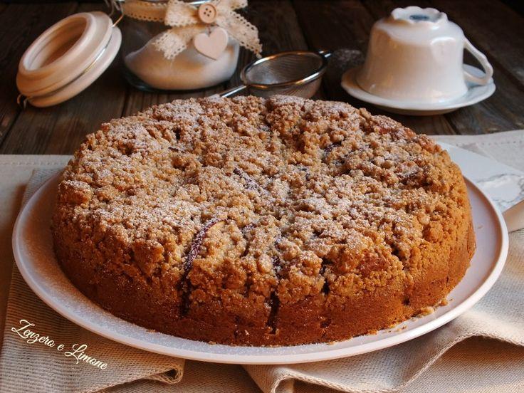 Crumb cake mela e cannella