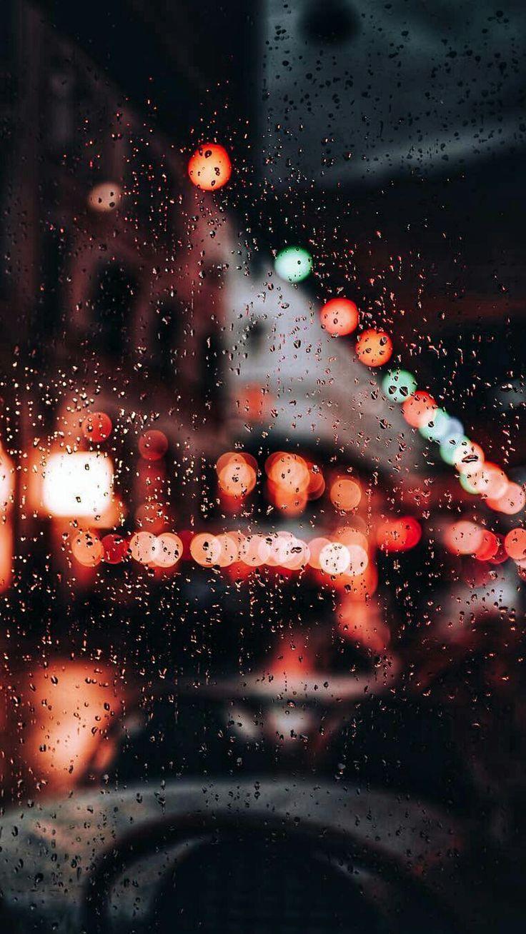 rainy nights in the city #wallpaper