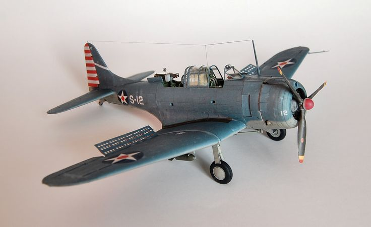 21 best images about ww ii airplanes paper models on pinterest lightning medium and mustangs - Sdb model ...