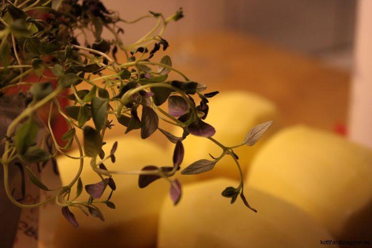 Timjan med potatis. #mat #timjan