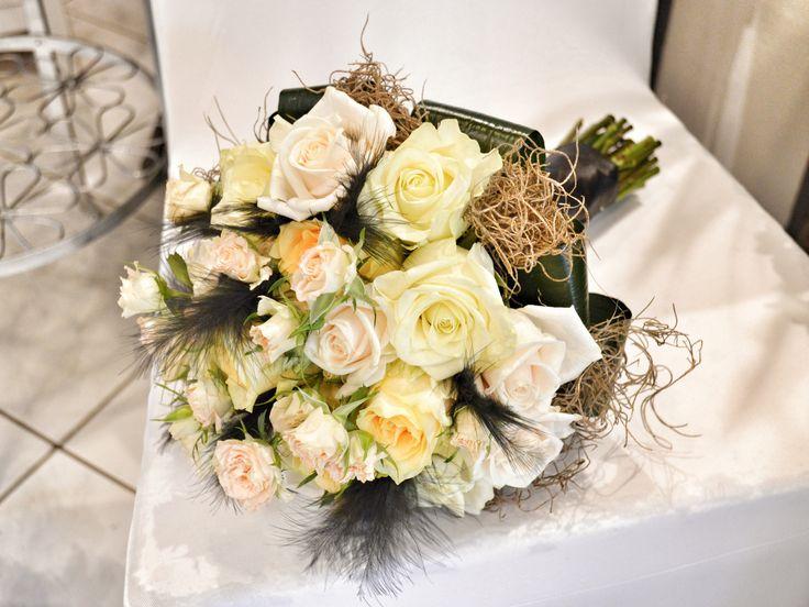 Golden wedding bouquet / Menyasszonyi csokor